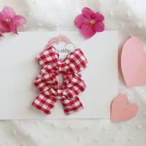 Kokardki mini- Czerwona krateczka